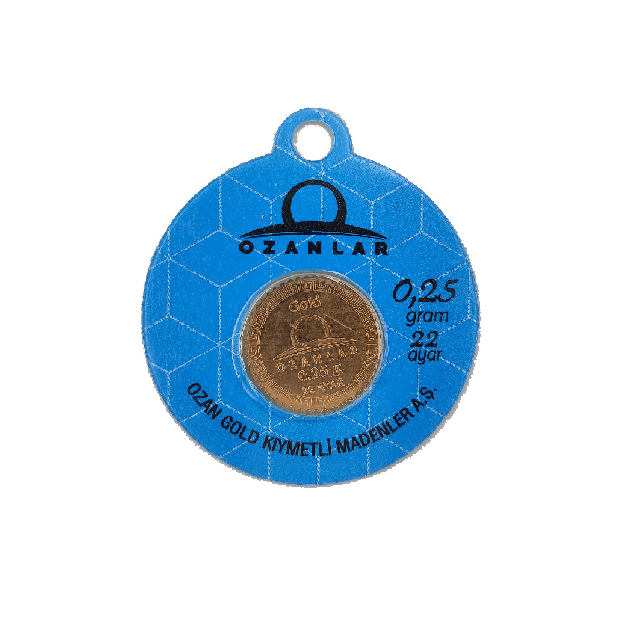 0.25 Gr 22 Ayar OZANLAR Gram Altın