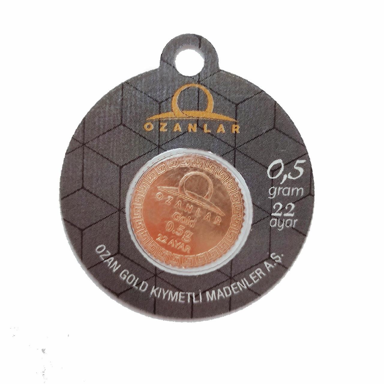 0.5 Gr 22 Ayar OZANLAR Gram Altın