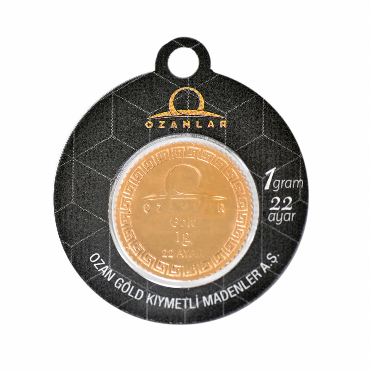 1 Gr 22 Ayar OZANLAR Gram Altın