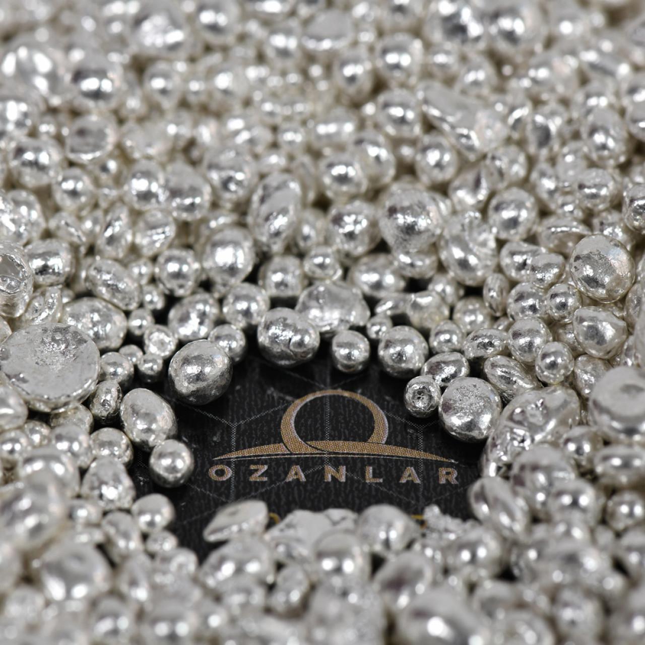 1 Kg Granül Gümüş