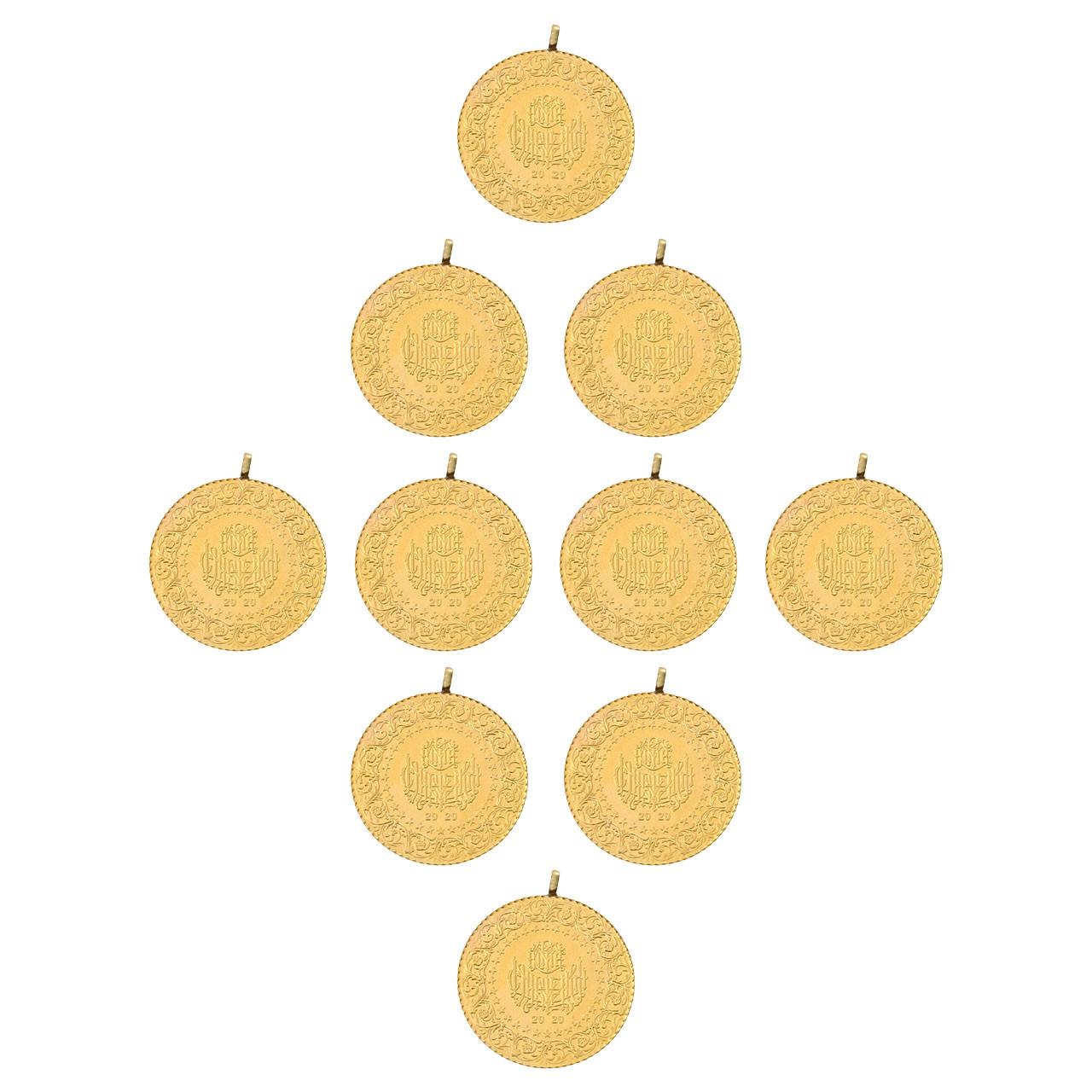 10 Adet Tam (Teklik) Altın Eski Tarihli