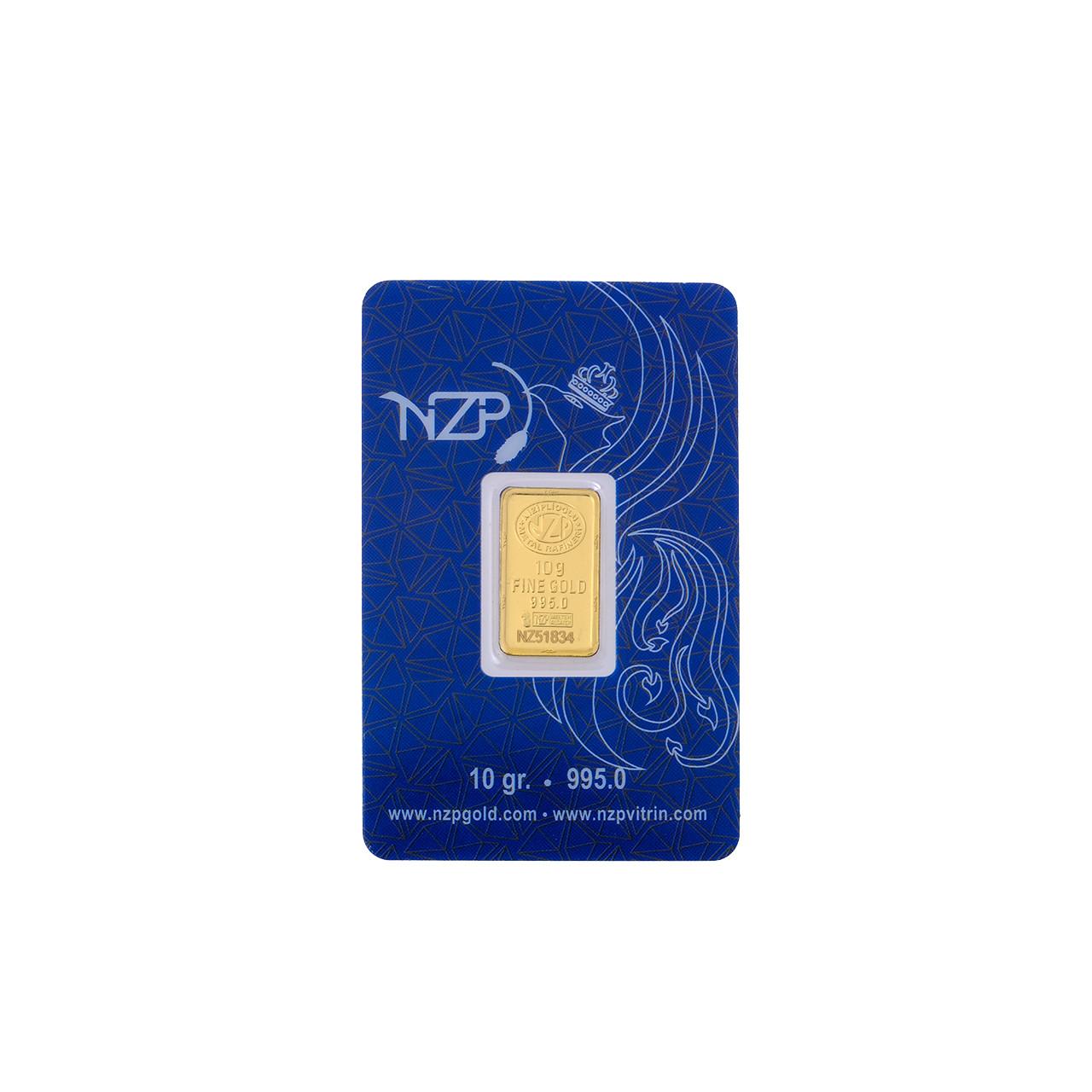 10 Gr NZP Külçe Altın