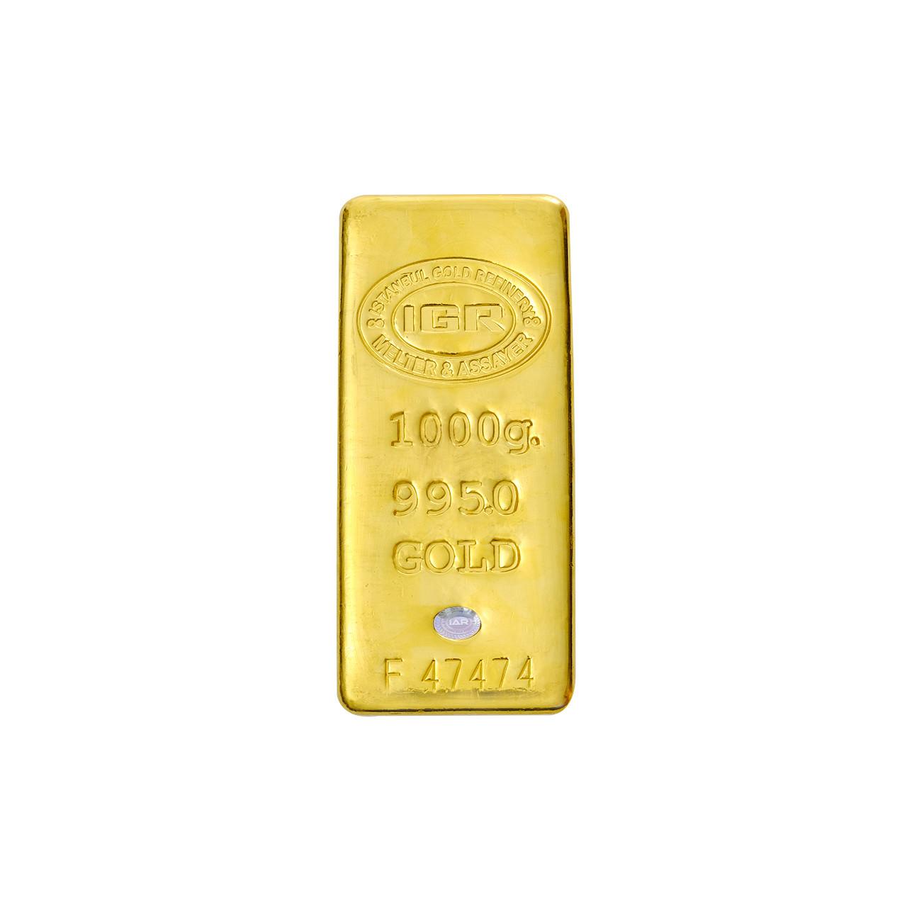 1000 Gr İAR Külçe Altın
