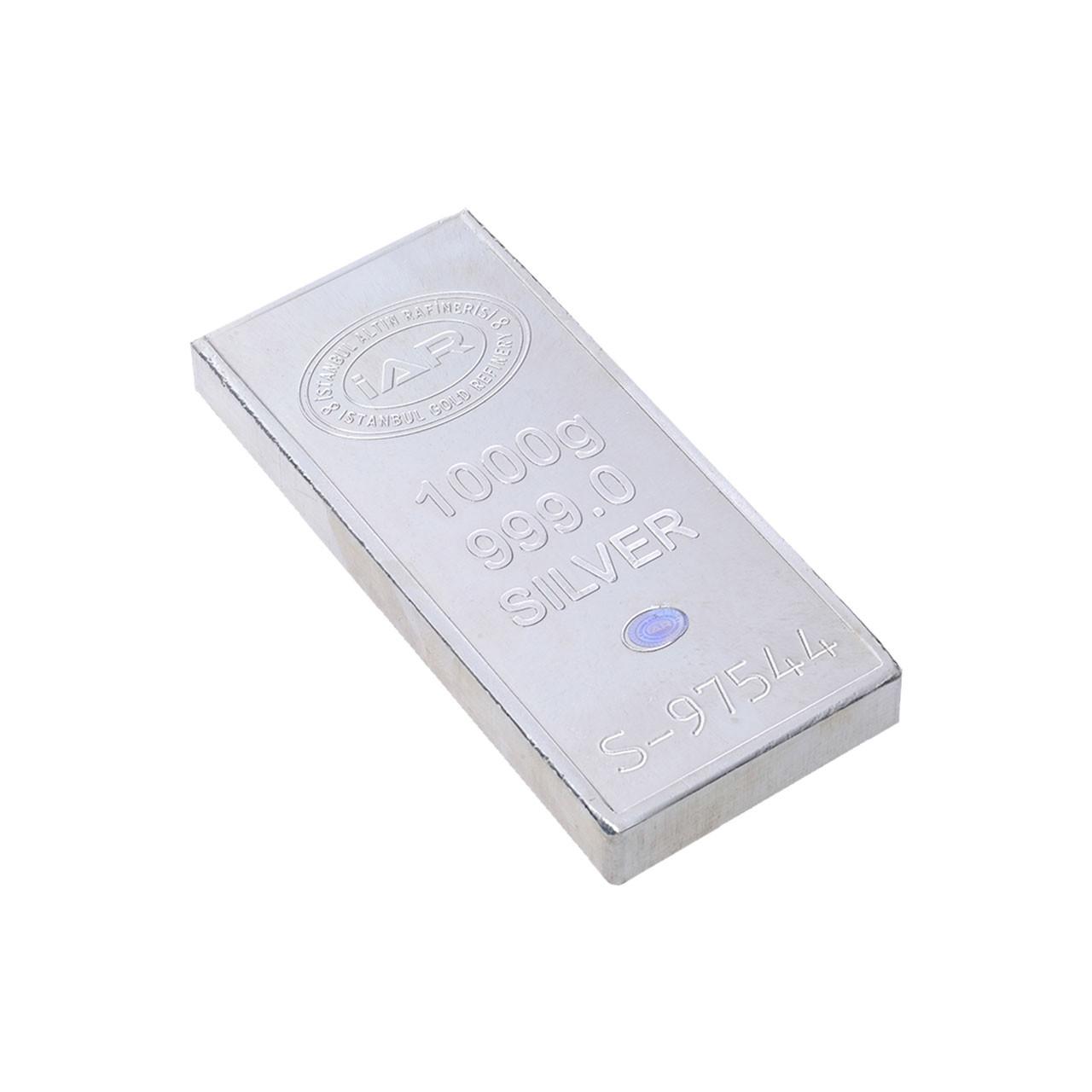 1000 Gr İAR Külçe Gümüş
