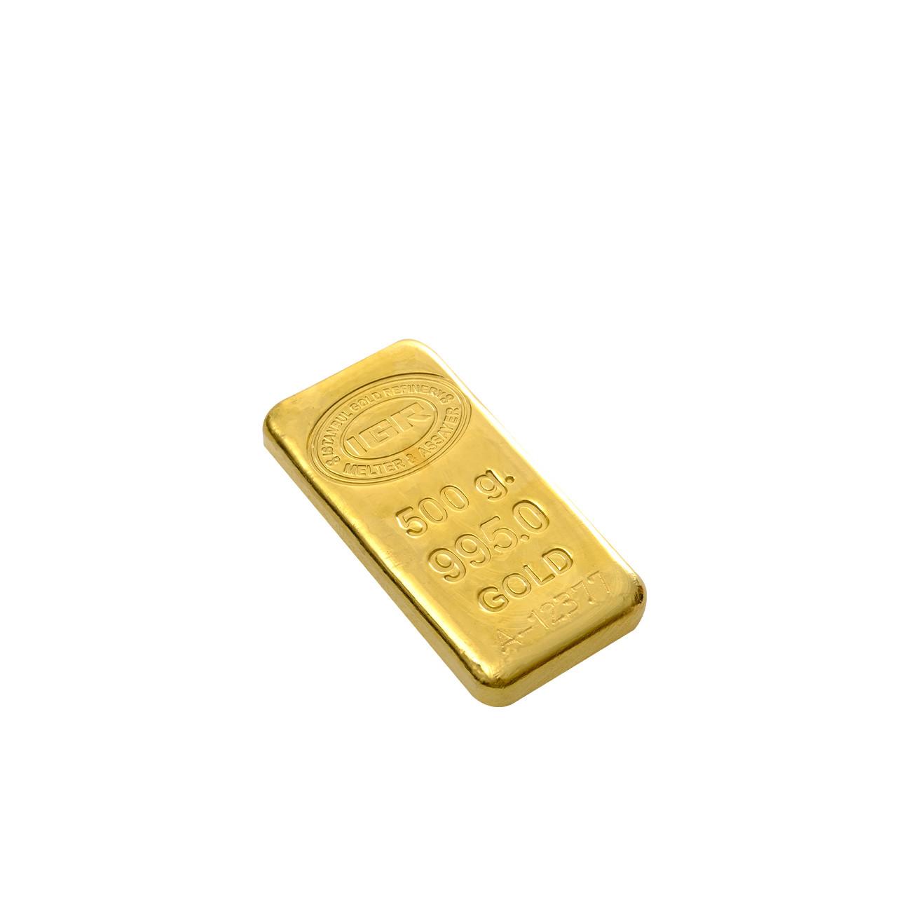 500 Gr İAR Külçe Altın